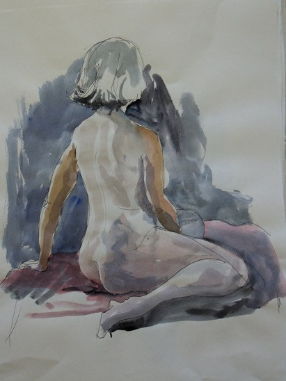 Janet, Nude