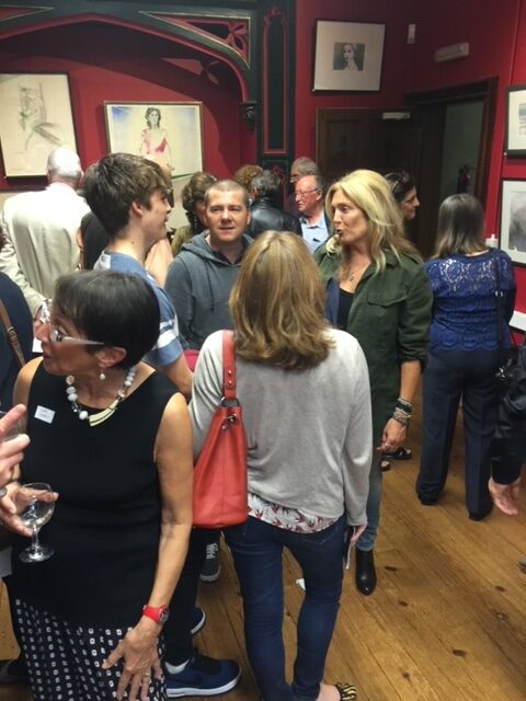 Exhibition at the Parsonage, private view